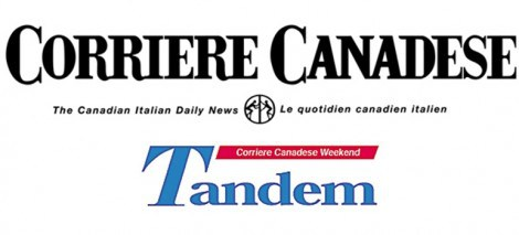 Il corriere canadese e il magazine tandem