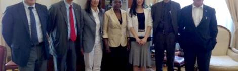 delegazione pdestero con ministra kyenge