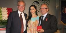 Francesca La Marca con Vincenzo Somma e Enzo Di Mauro