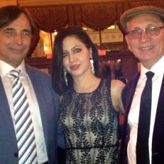 Da sinistra: Prof Ernesto Virgulti (Brock University) e Sam Cino organizzatore di Sicilia Canta