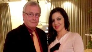Con il sindaco di Oshawa, John Henry