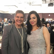 Con Laura Albanese, Ontario Minister of Citizenship and Immigration