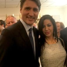 Con il Primo Ministro Justin Trudeau