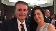 Con Franco Stendardo, fondatore di Mississauga ITALFEST