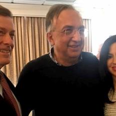 Con il Sindaco di Toronto John Tory e Sergio Marchionne, C.E.O. of Fiat Chrysler
