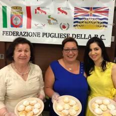 Con le amiche della Federazione pugliese