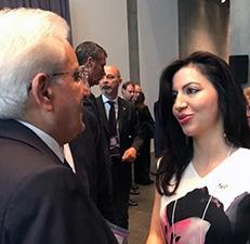 Ottawa. Con il Presidente Sergio Mattarella alla National Gallery of Canada
