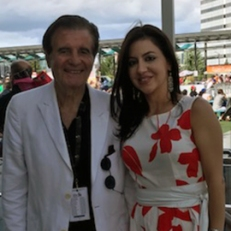 Con Frank Stendardo, cofondatore e presidente del V Mississauga ItalFest - Ferragosto in the City (Mississauga Celebration Square)