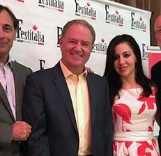 Da sinistra: Ernesto Virgulti (Brock University), Joe Baiardo e Livio Di Nello