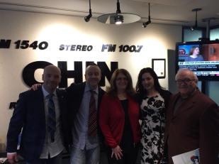 A visit to @chinradiocanada studios in Toronto