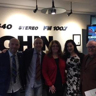 A visit to @chinradiocanada studios in Toronto