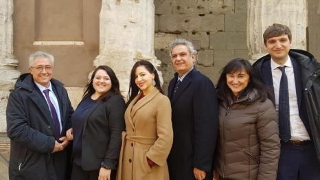 Con i colleghi eletti all'estero