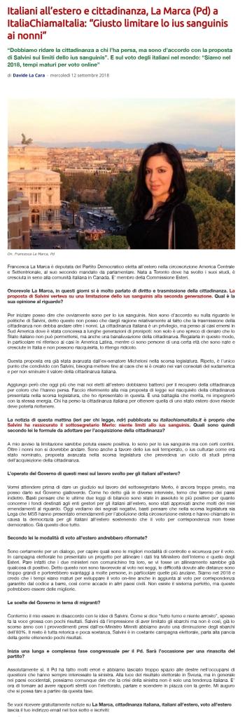 """La-Marca-(Pd)-a-ItaliaChiamaItalia_-""""Giusto-limitare-lo-ius-sanguinis-ai-nonni""""---Italia-chiama-Italia"""
